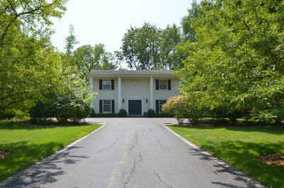 Lake Forest Single Family Home For Sale: 1881 Farm Road