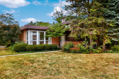 Wilmette Single Family Home For Sale: 601 Romona Road