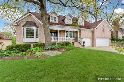 Naperville Single Family Home Price Change: 107 Bridgewater Court