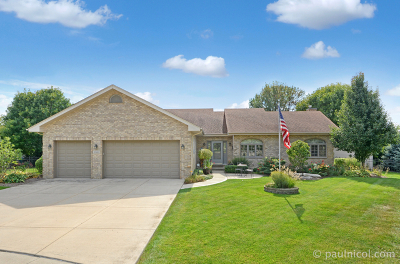 Mokena Single Family Home Contingent: 11981 Camelot Avenue