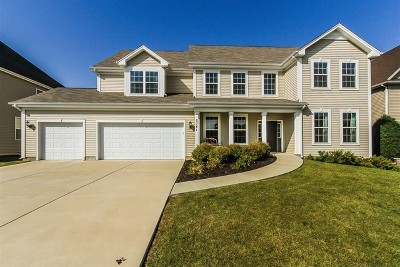 Bolingbrook Single Family Home Contingent: 2381 River Hills Lane