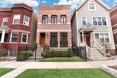 Single Family Home For Sale: 1516 West Melrose Street