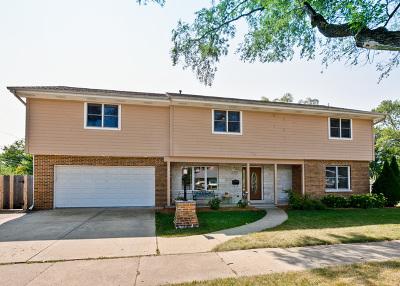 Palatine Single Family Home Price Change: 105 East Washington Street