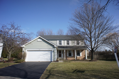 St. Charles Single Family Home For Sale: 704 Foxfield Court