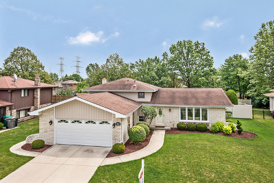 Orland Park Single Family Home Contingent: 8311 Wheeler Drive