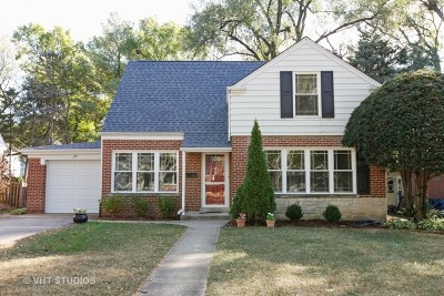 Clarendon Hills Single Family Home Contingent: 29 Indian Drive