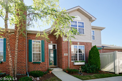 Tinley Park Condo/Townhouse Contingent: 6584 Pine Lake Drive