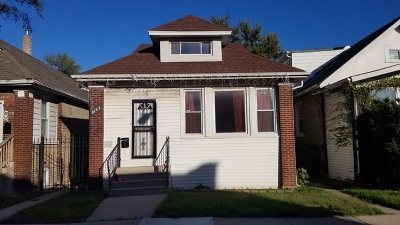 Single Family Home For Sale: 8143 South Bennett Avenue