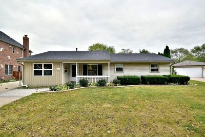 Schaumburg Single Family Home For Sale: 1908 Winston Lane