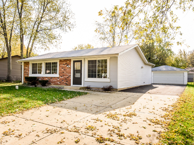 Bolingbrook Single Family Home Contingent: 819 Poplar Lane