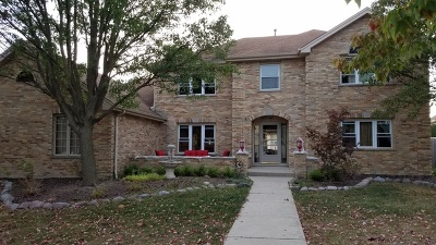 Orland Park Single Family Home For Sale: 18066 Voss Drive