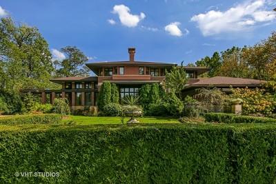 Burr Ridge Single Family Home For Sale: 6451 South Elm Street