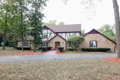 Homer Glen Single Family Home For Sale: 12357 West Mackinac Road