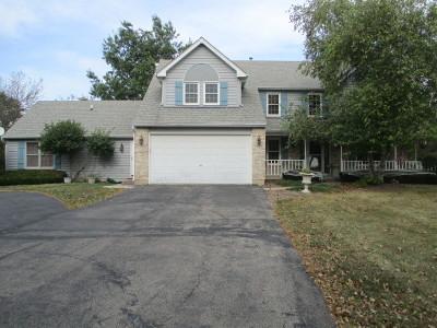 Hampshire Single Family Home For Sale: 16n795 Prairie Farm Drive