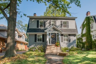 Glen Ellyn Single Family Home Contingent: 436 Arlington Avenue