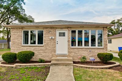 South Holland Single Family Home Contingent: 15750 South Park Avenue