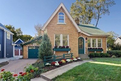 Downers Grove Single Family Home For Sale: 929 Chicago Avenue