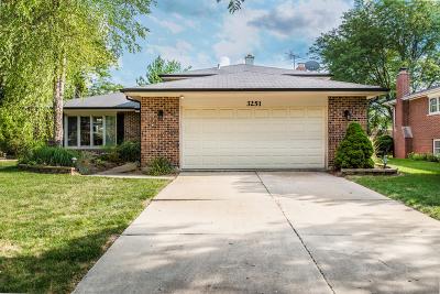 Darien Single Family Home For Sale: 3251 Beller Drive