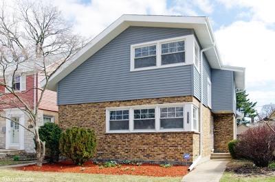 Skokie Single Family Home For Sale: 8023 Kilbourn Avenue