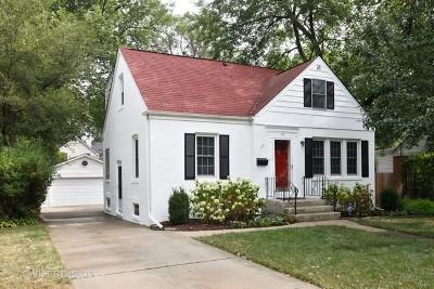 Clarendon Hills Single Family Home For Sale: 117 Hiawatha Drive