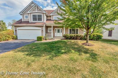 North Aurora Single Family Home Price Change: 1321 Winterberry Court