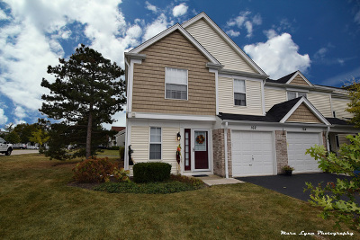 Streamwood Condo/Townhouse Contingent: 162 North Oltendorf Road
