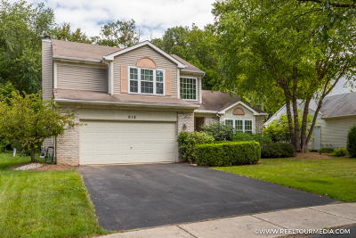 Oswego Single Family Home Price Change: 614 Pearces Ford Road