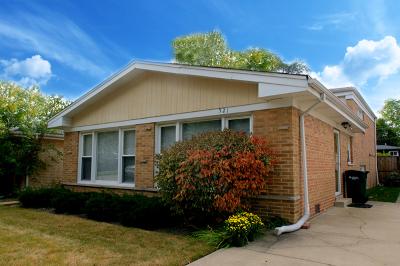 Wilmette Single Family Home For Sale: 521 Lavergne Avenue