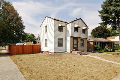 Westchester IL Single Family Home For Sale: $188,000