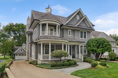 Hinsdale Single Family Home For Sale: 732 South Vine Street