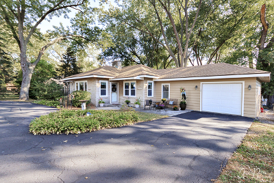 McHenry Single Family Home Contingent: 34645 North Hiawatha Trail