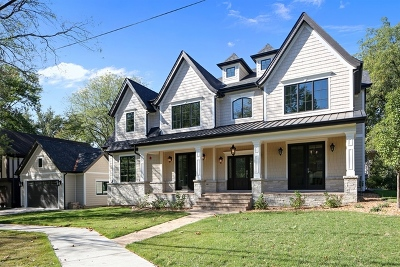 Glen Ellyn, Wheaton, Lombard, Winfield, Elmhurst, Naperville, Downers Grove, Lisle, St. Charles, Warrenville, Geneva, Hinsdale Single Family Home For Sale: 197 Hill Avenue