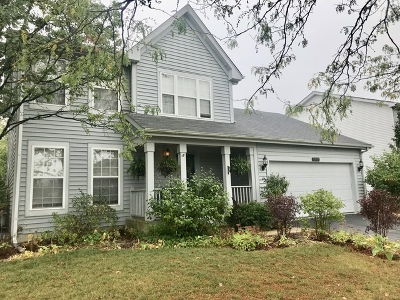 Plainfield Single Family Home Contingent: 21101 West Covington Drive