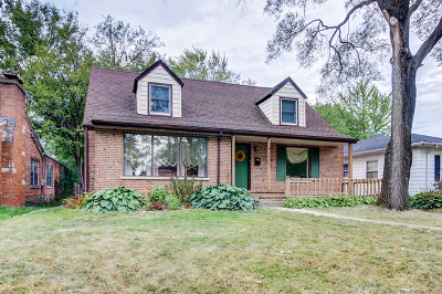 Homewood Single Family Home Re-activated: 18353 Dundee Avenue