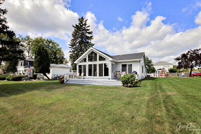 McHenry Single Family Home For Sale: 2014 Orchard Beach Road