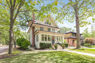 River Forest Single Family Home For Sale: 847 Keystone Avenue