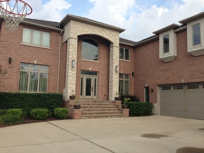Schaumburg Single Family Home For Sale: 433 Pleasant Drive