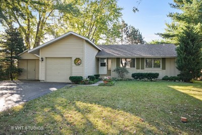 Naperville Single Family Home Price Change: 122 Kingswood Court