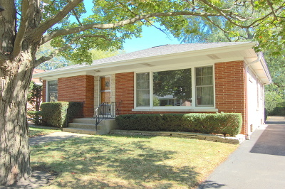 Wilmette Single Family Home Contingent: 428 Romona Road