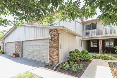 Oak Brook Condo/Townhouse For Sale: 2s752 Theresa Court