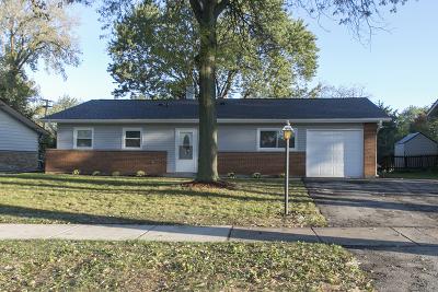 Hoffman Estates Single Family Home Price Change: 470 Bode Road