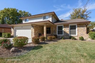 Palatine Single Family Home For Sale: 838 West Kathleen Lane