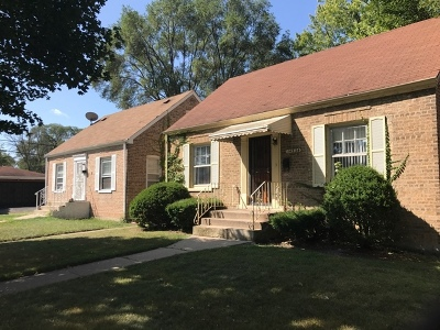 Single Family Home Price Change: 14522 South Dearborn Street