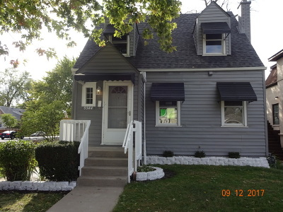 Evergreen Park Single Family Home Price Change: 9344 South Turner Avenue