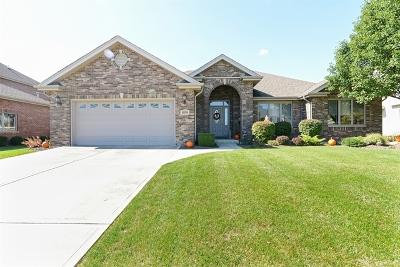 Beecher Single Family Home For Sale: 1074 Cherry Lane
