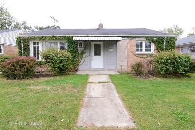 Homewood Single Family Home For Sale: 2347 175th Street