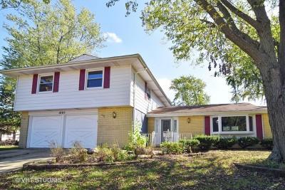 Schaumburg Single Family Home Contingent: 1805 Carson Court