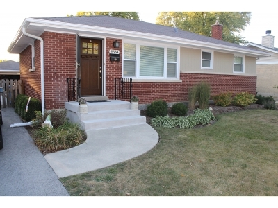 Downers Grove Single Family Home For Sale: 4334 Stanley Avenue