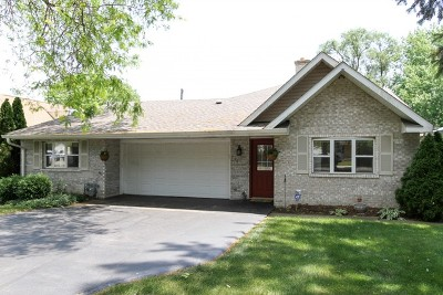 McHenry Single Family Home Price Change: 718 South Riverside Drive