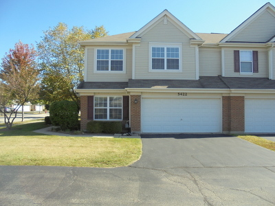 Lake In The Hills Condo/Townhouse For Sale: 5422 Wildspring Drive